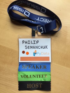 My PyData Pass
